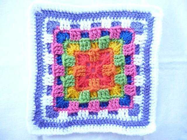 Ravelry: Brighter Daze Square by Melissa Green | BORDADO ESPAÑOL ...