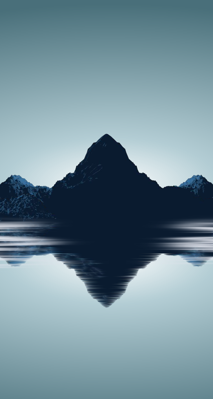 Minimal Mountains ★ Find more VERY MANLY iPhone + Android