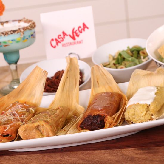 Give the Gift of Homemade Tamales. If only I could find masa & corn husks...