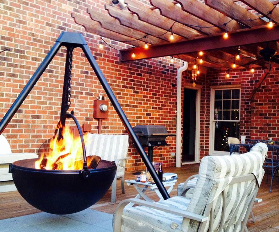 Cowboy Cauldron BBQ & Fire Pits   Fire pit bbq, Fire pit ...