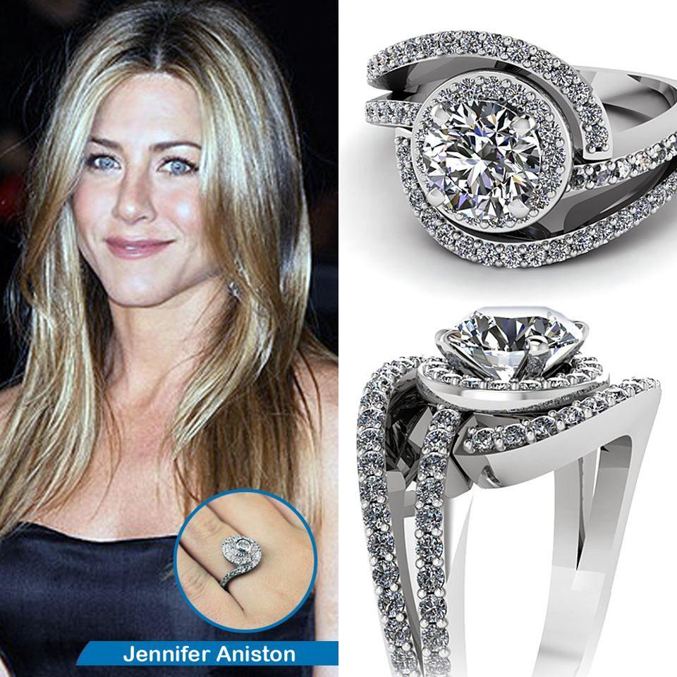 Swirl Round Diamond Halo Engagement Ring In 950 Platinum Round Diamond Engagement Rings Halo Celebrity Engagement Rings Shiny Engagement Rings