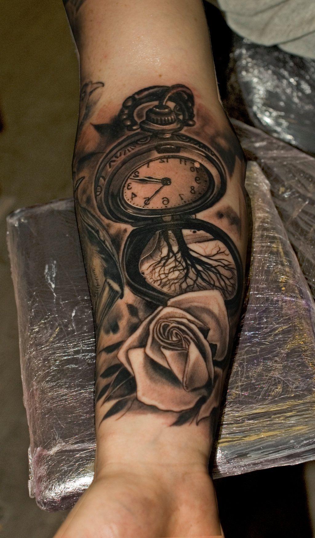 Photo of Tattoo Taschenuhr – 31 coole Designs und Bedeutung – Tattoos – ZENIDEEN