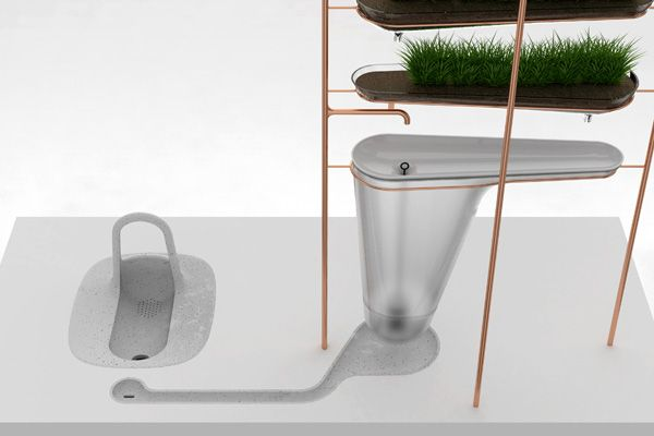 The Microbial Home Yanko Design Water Filter Kitchen