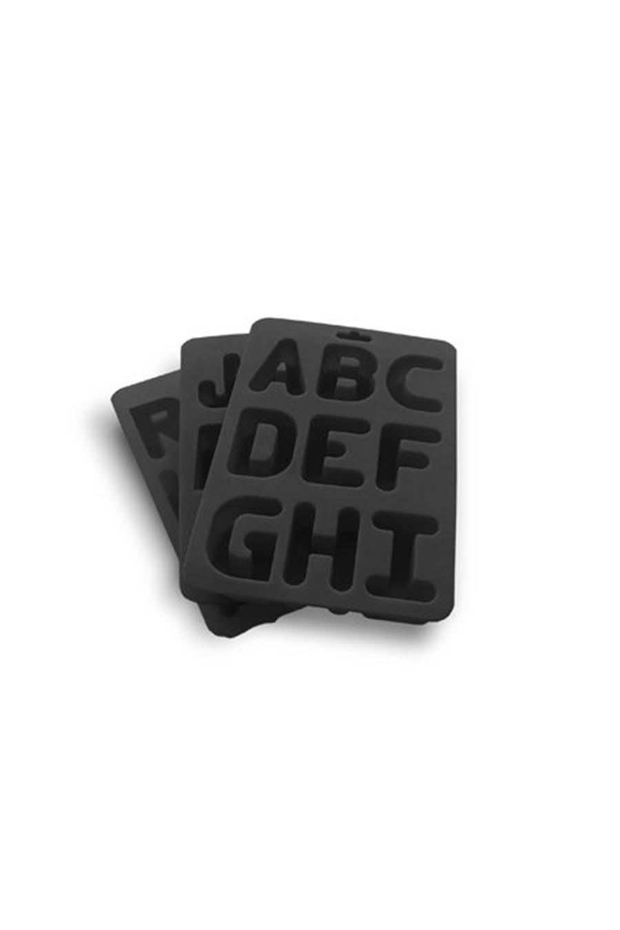 Alphabet Ice Tray