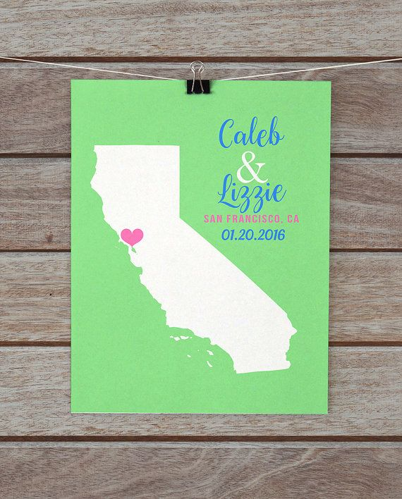 California map san francisco san diego los angeles wedding california map san francisco san diego los angeles wedding beach wedding gifts negle Images