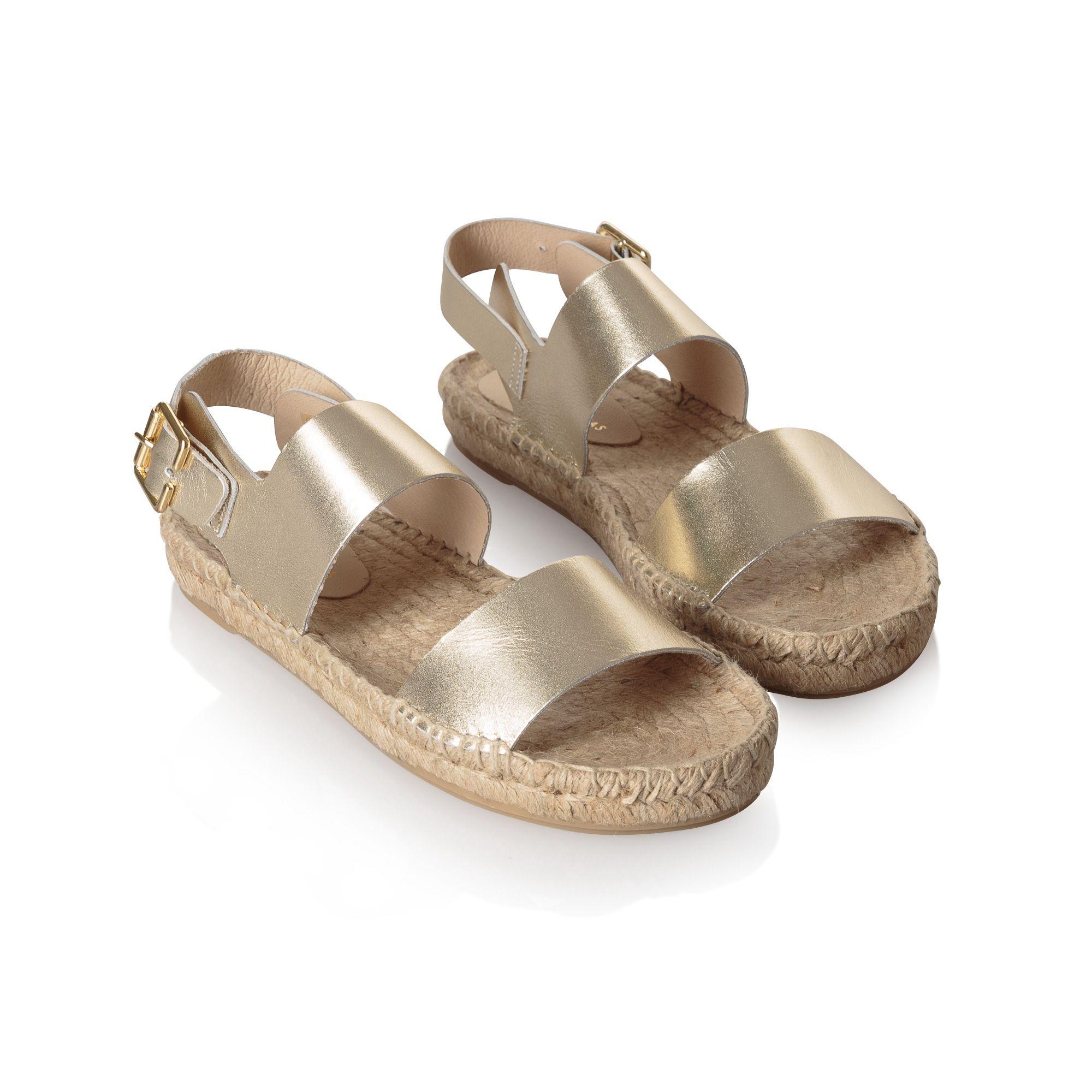 8762da348d Glisten Gold Metallic Leather Strap Sandals | Shoes, boots, sandals ...