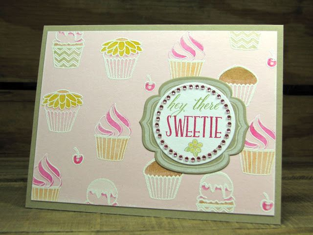 From Mamacow Creations : Gorgeous use of Sweet Treats from WPlus9.