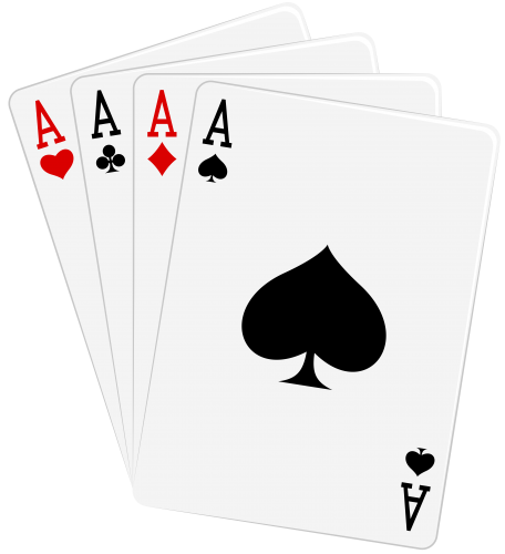 Four Aces Cards Png Clipart Ace Tattoo Ace Card Playing Card Tattoos