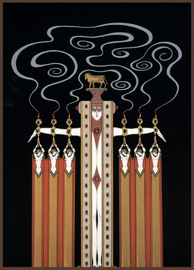 Art Deco - Erte (Romain de Tirtoff, 1892-1990)