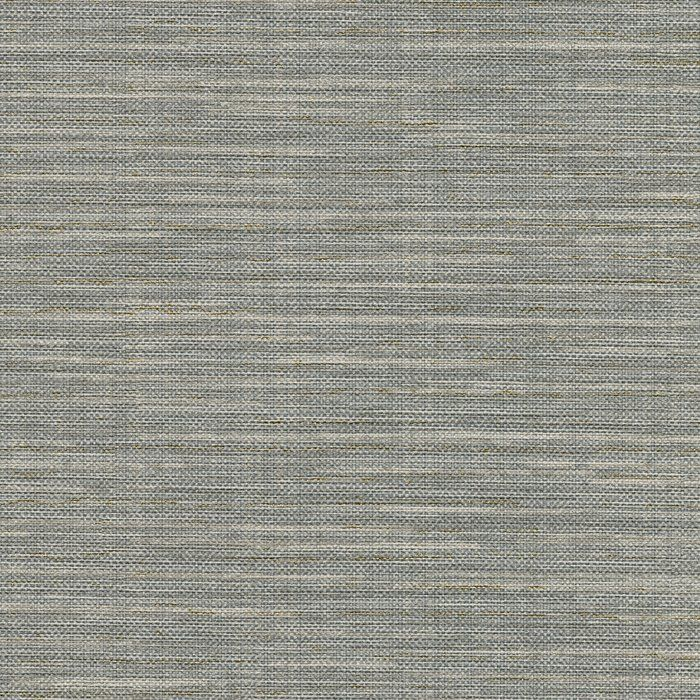 "Carlo Faux Grasscloth 27' L x 27"" W Texture Wallpaper Roll"