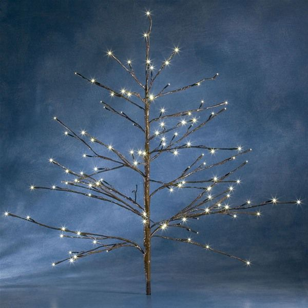 17 Best images about Twig Christmas trees with lights on Pinterest | Trees,  Warm and Cherries