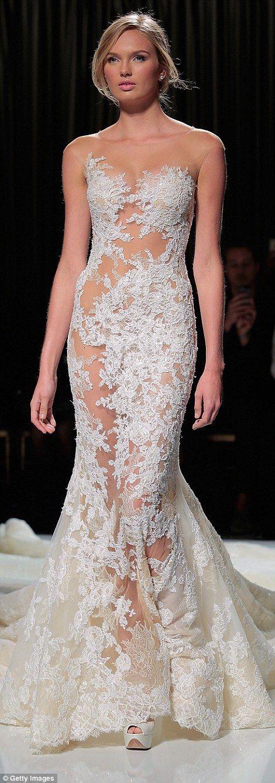 Bare Wedding Dress