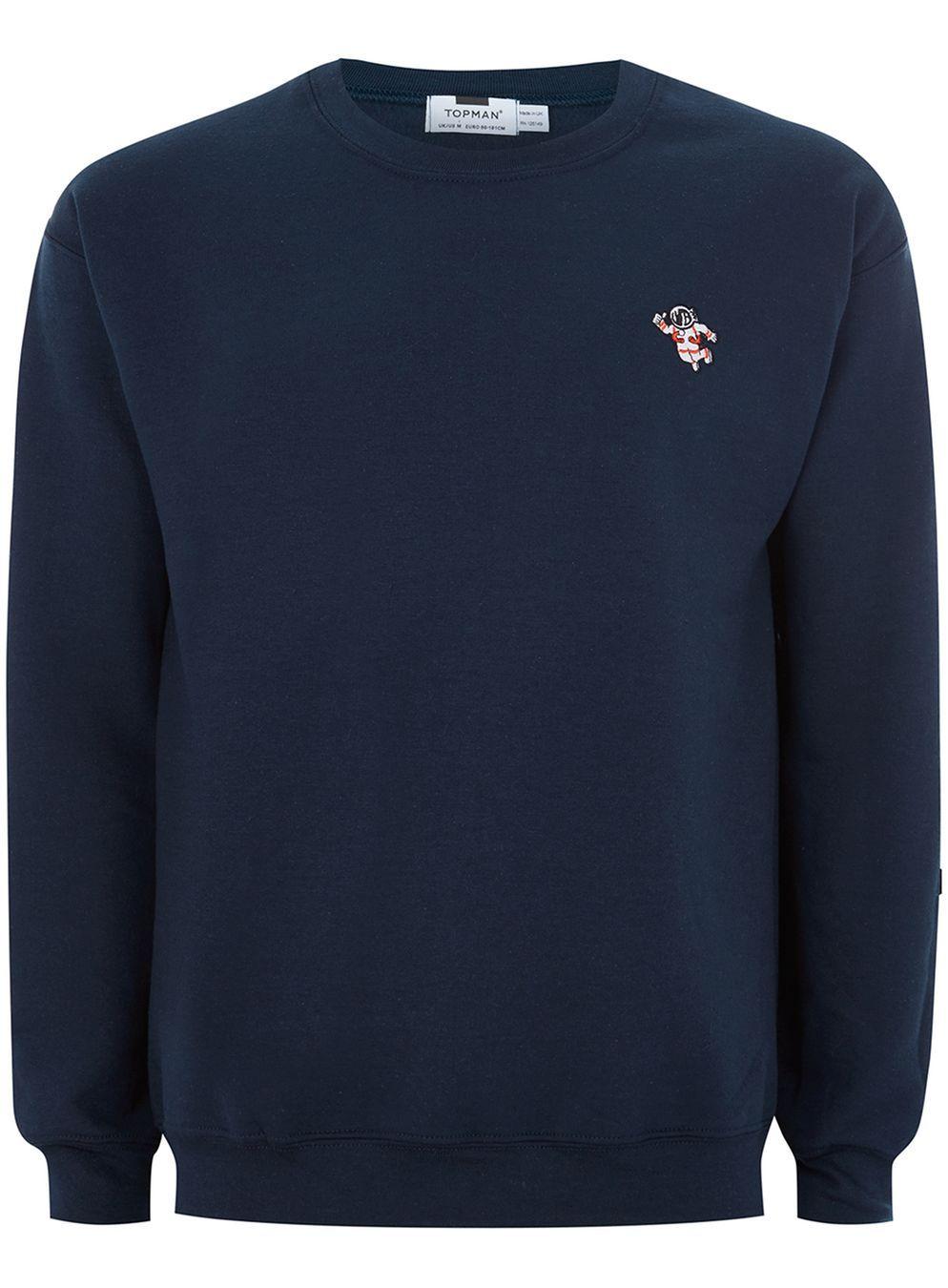 6e48775c0 Navy Astronaut Sweatshirt | Style | Sweatshirts, Astronaut, Navy