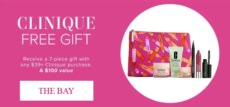 Spend 29 To Get Clinique Bonus Clinique Clinique Free Gift