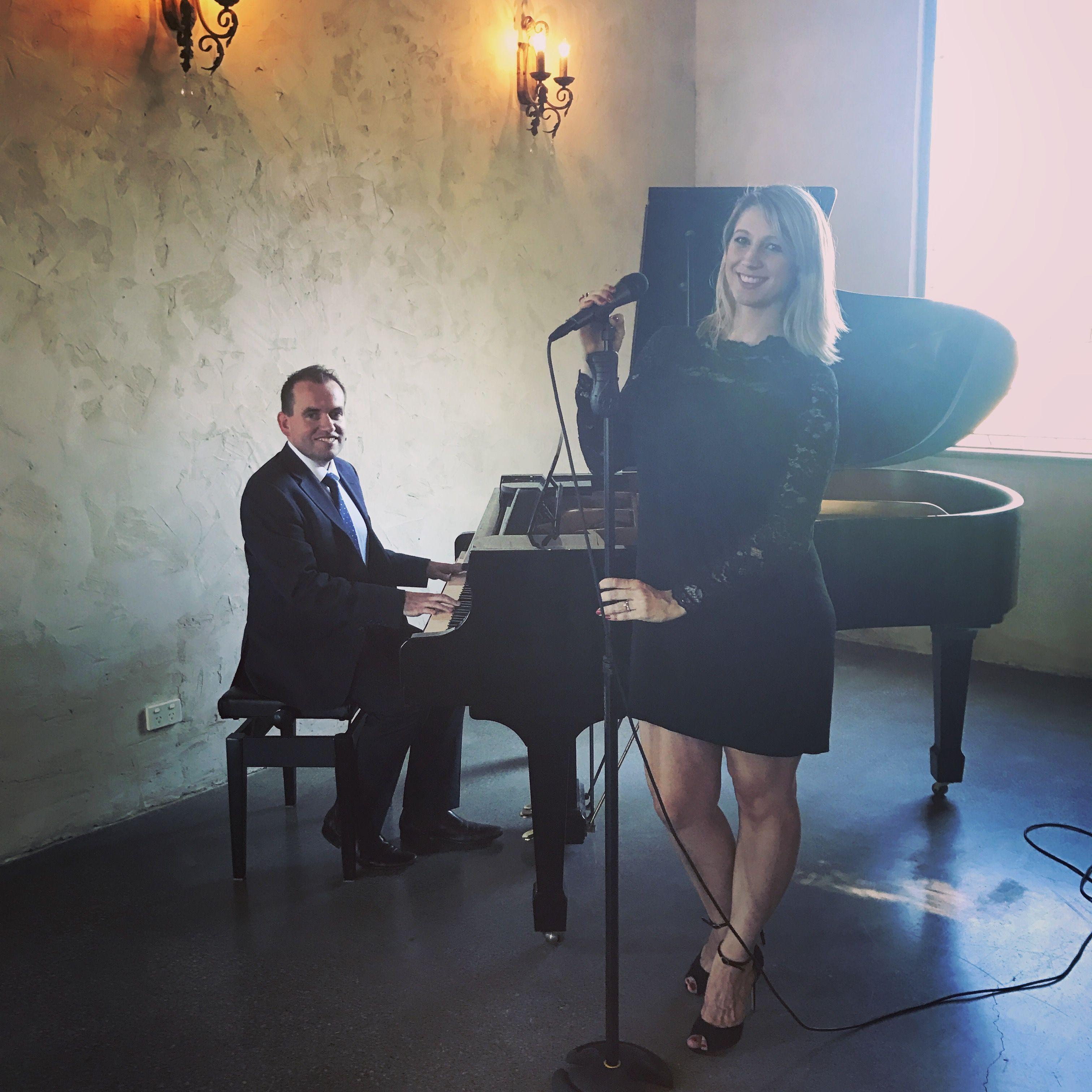Wedding duo Paula Gentile and Benny Martin