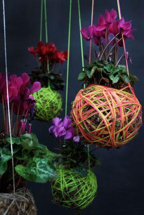 Kokedama idee per giardini sospesi piante jard n de for Alberelli da esterno