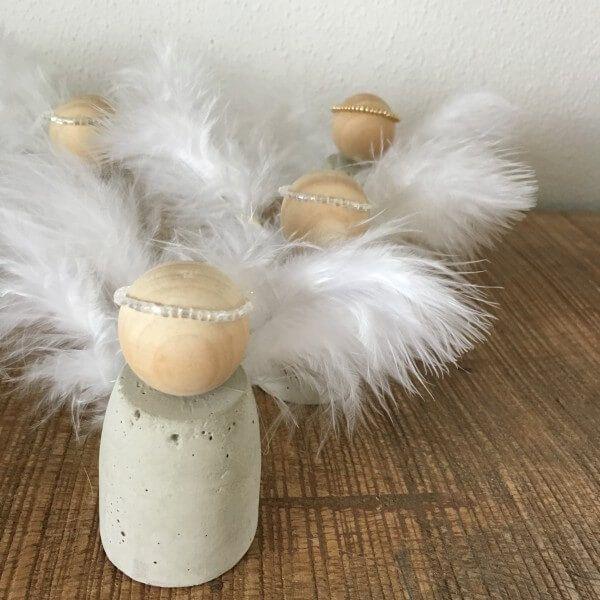 beton engel biele vianoce pinterest weihnachten engel und basteln weihnachten. Black Bedroom Furniture Sets. Home Design Ideas