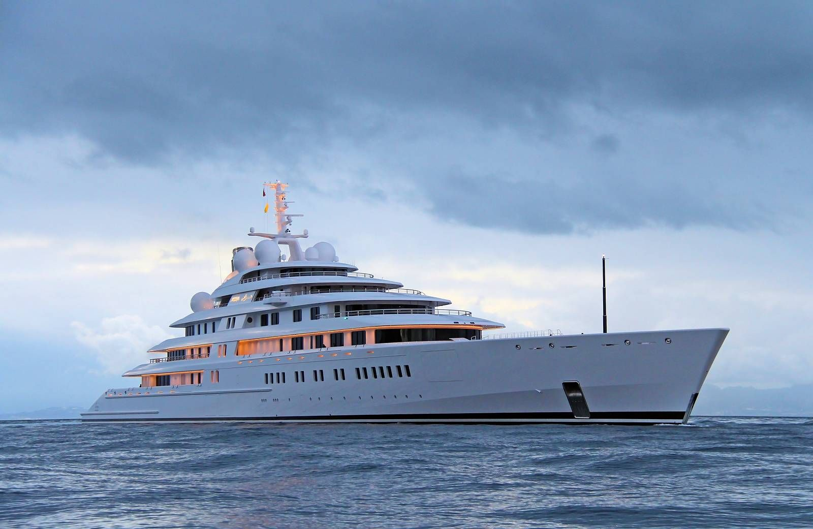 180m Lurssen Mega Yacht Azzam Designed By Nauta Photo By