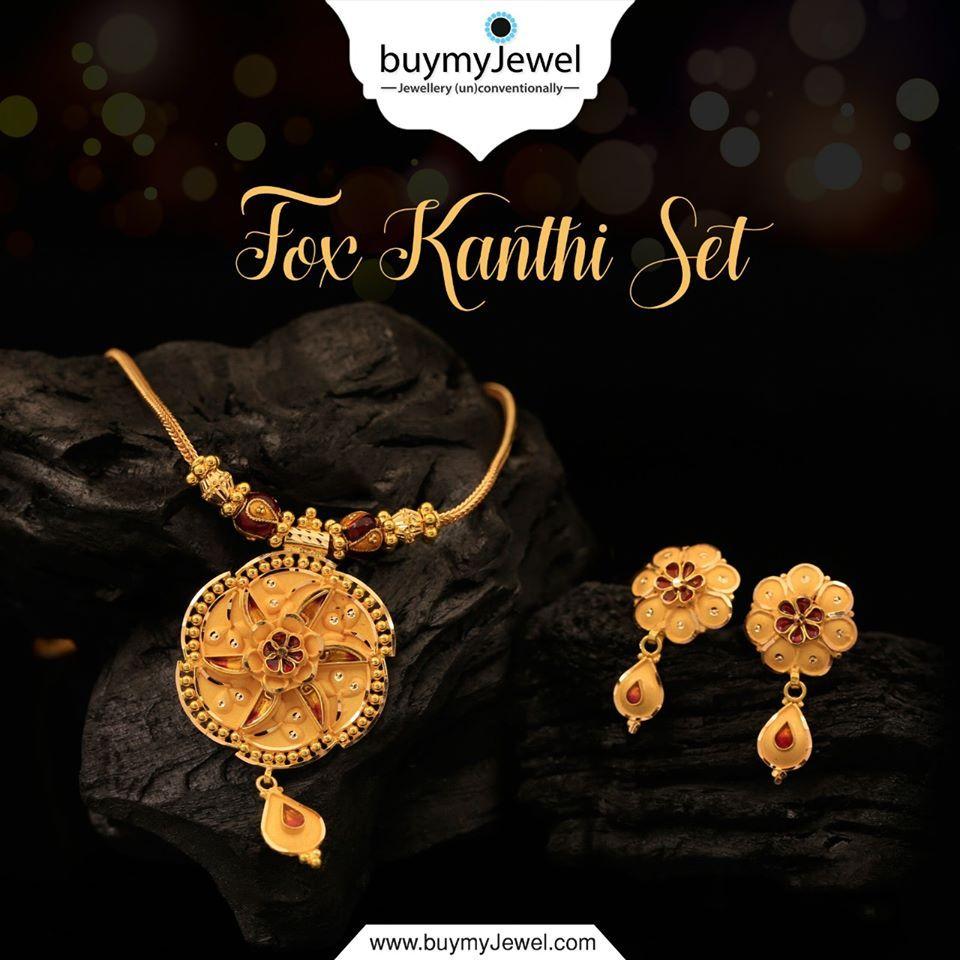 Traditional Desinger Kanthi Women Neckace Beaded Mangalsutra Fashion Jewelry