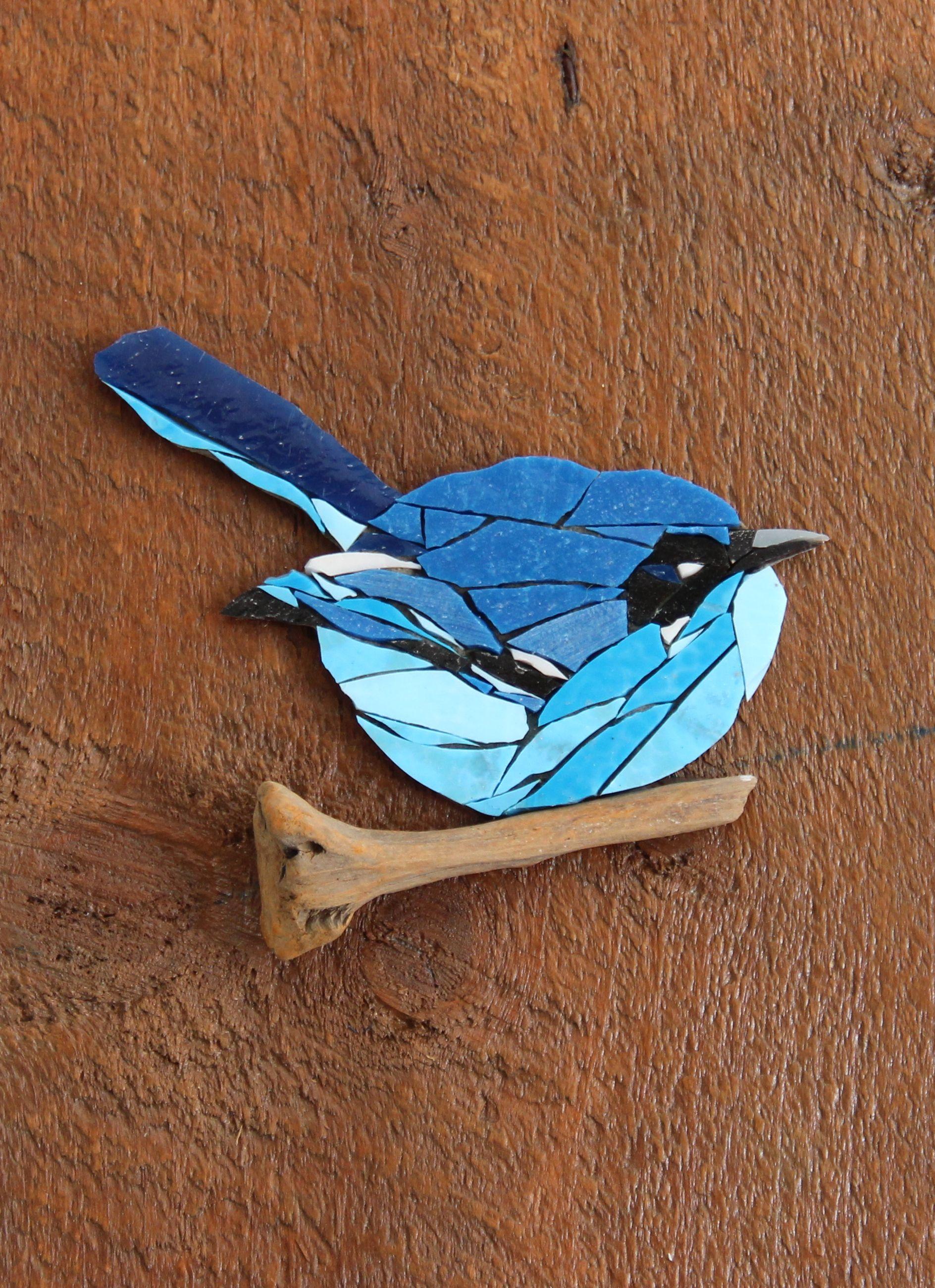 Pablo Key Storage Decoration Storage Key Holders Mosaic Painting Bird Mosaic Wood Mosaic Birds Mosaic Animals Mosaic Artwork