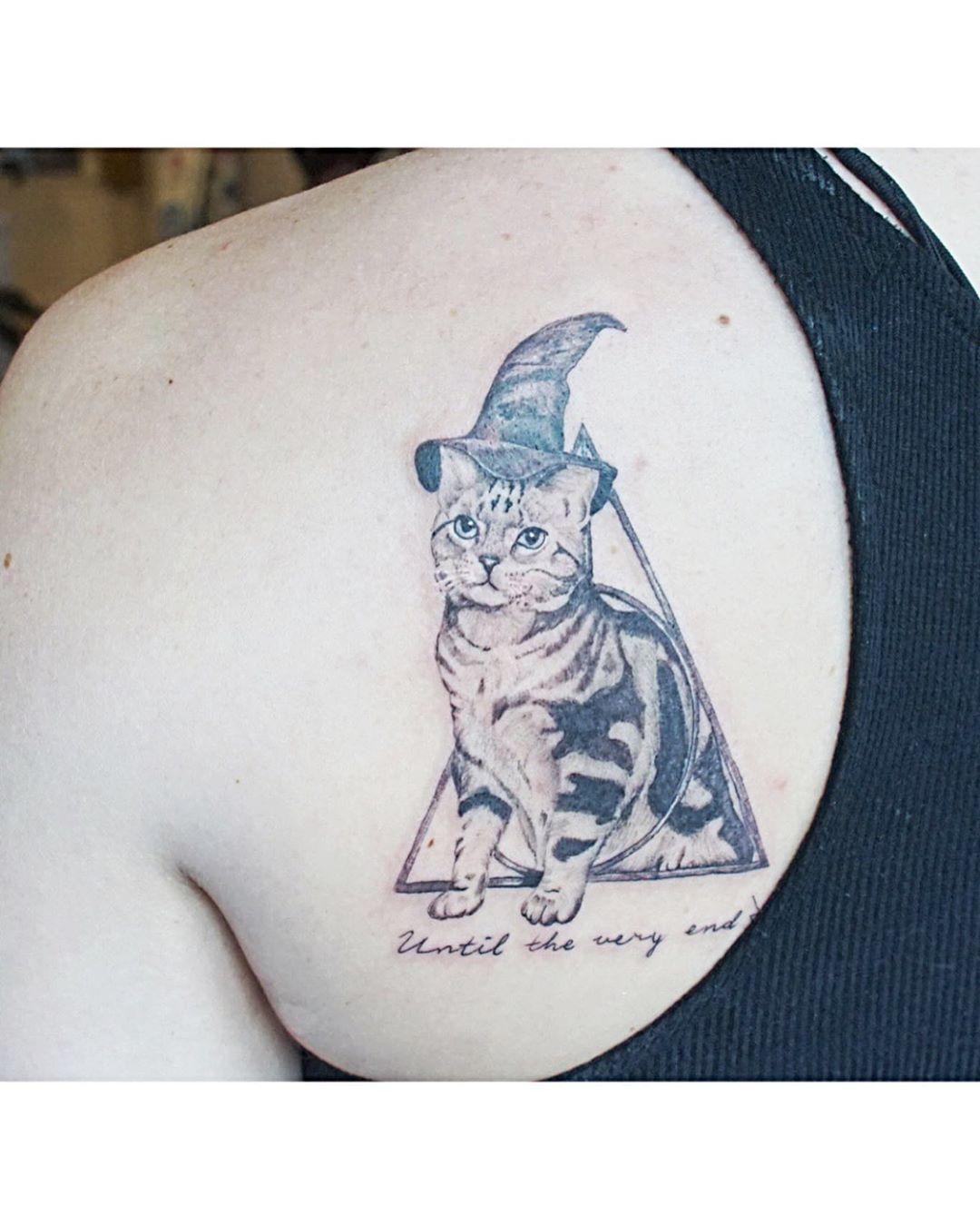 Professor Minerva Mcgonagall Harry Potter Tattoos Animal