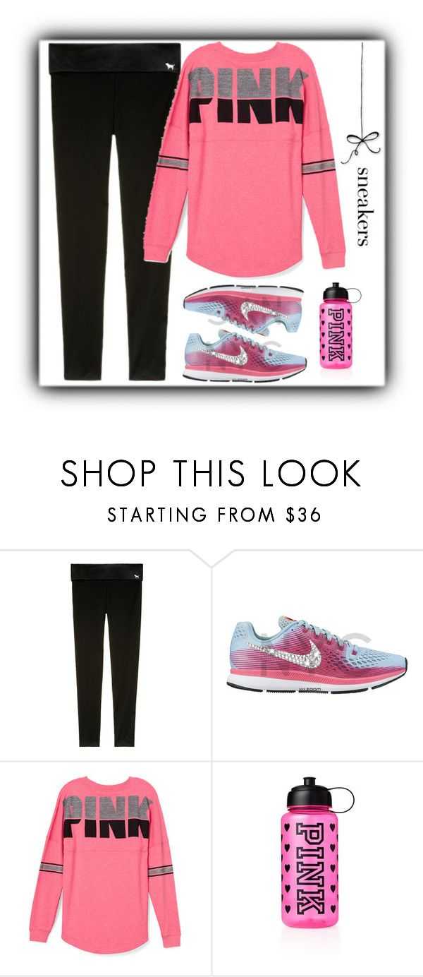 3026eeacac by xo-nikita ❤ liked on Polyvore featuring Victoria s Secret PINK and