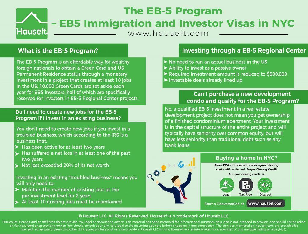 Eb5immigrationandinvestorvisasinnyc investing