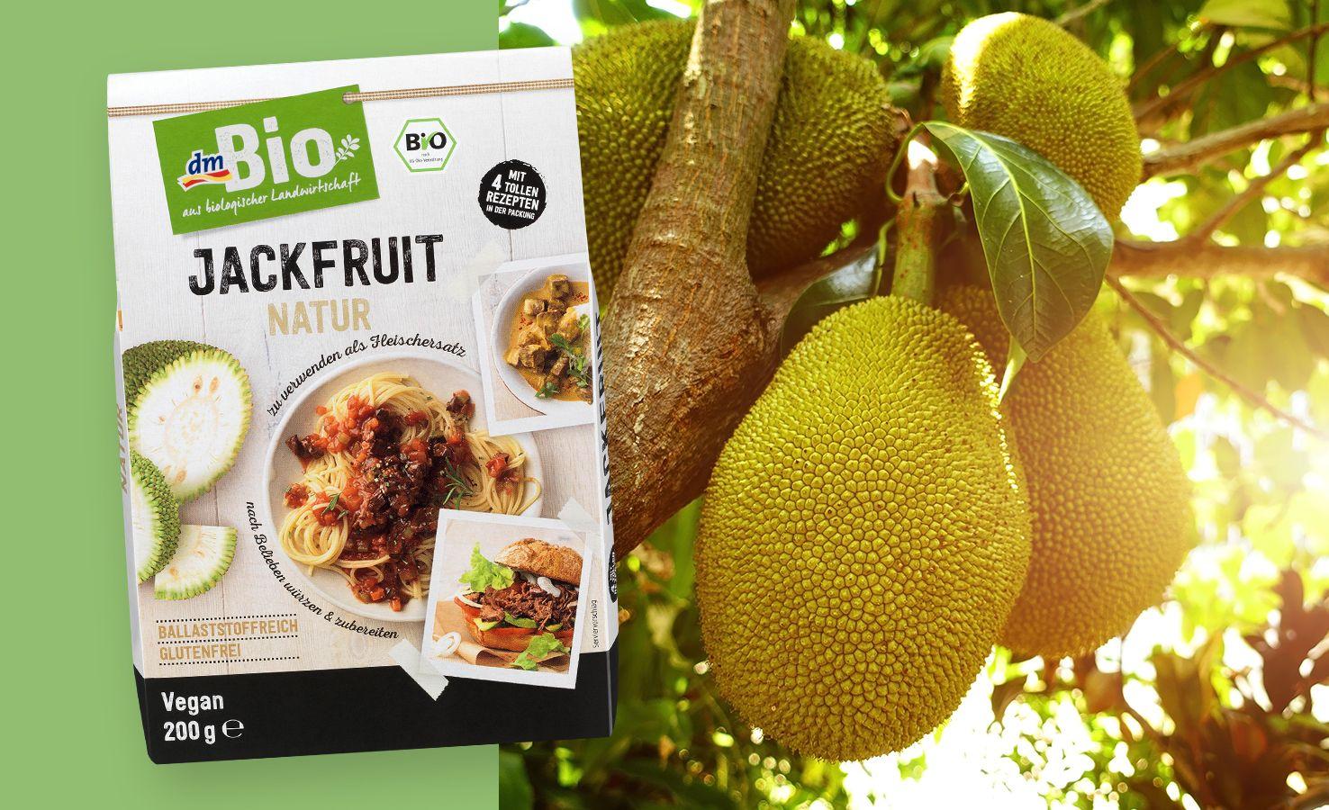 Jackfruit Infos Rezepte Zur Trend Frucht Dm De Jackfruit Rezepte Rezepte Fruchte