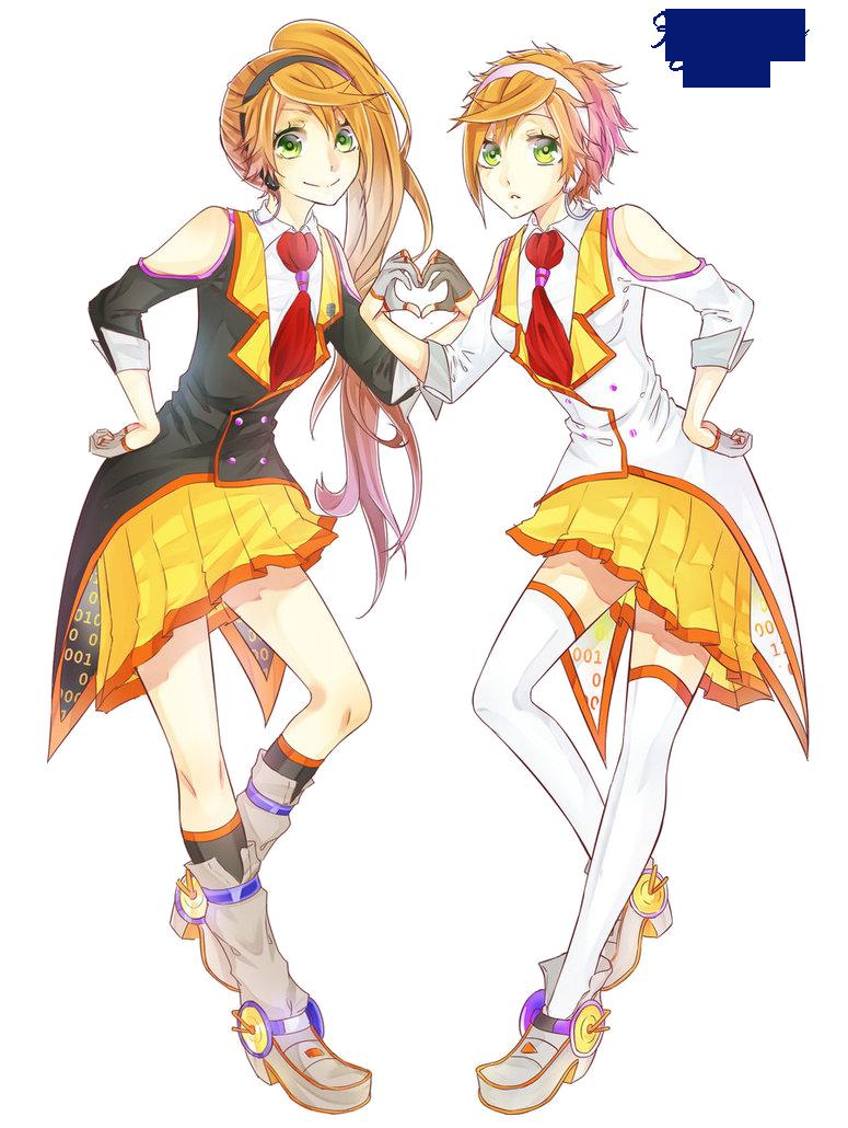 Vocaloid anon and kanon