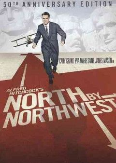 North by Northwest (DVD)-Madison Avenue advertising man Roger Thornhill finds himself thrust into the world of spies when he is mistaken for a man by the name of George Kaplan. Foreign spy Philip Vandamm and his henchman Leonard try to eliminate him but when Thornhill tries to make sense of the case, he is framed for murder. Now on the run from the police, he manages to board the 20th Century Limited bound for Chicago where he meets a beautiful blond.....