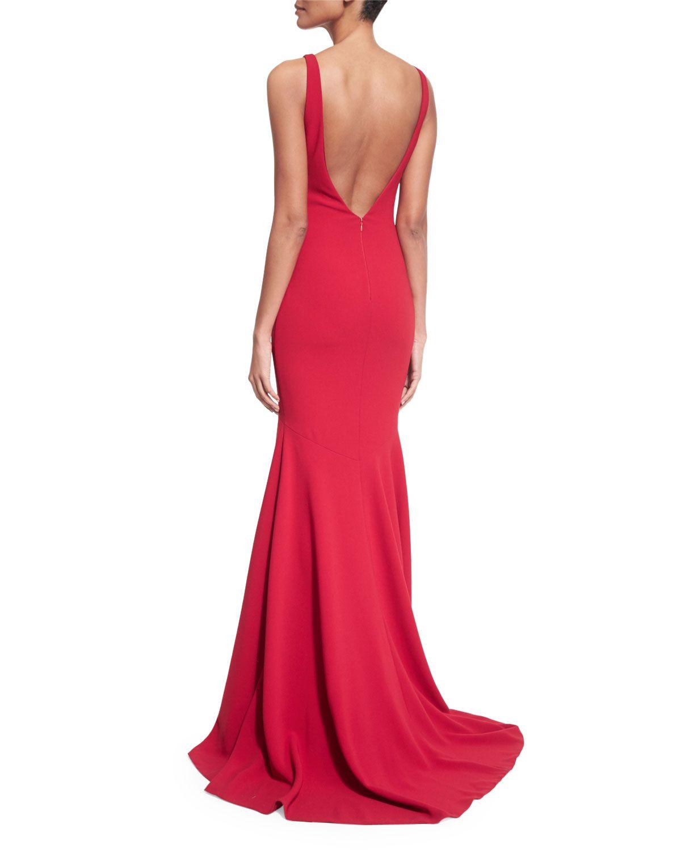 Theia Sleeveless V-Back Mermaid Gown | My Style | Pinterest ...