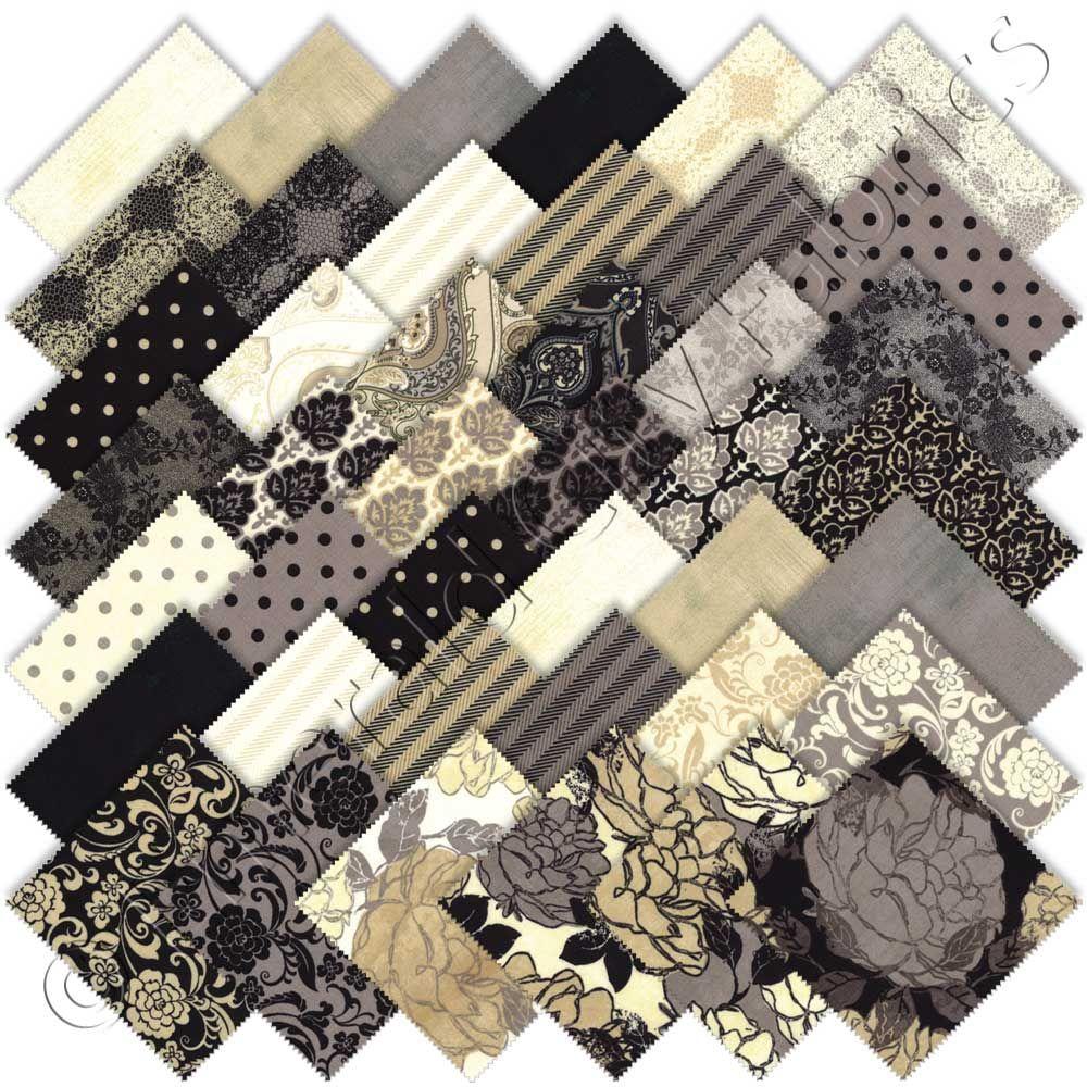 Moda Little Black Dress Charm Pack 5 Quot Quilt Squares I