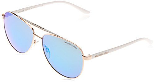 3851eb4d052e3 Michael Kors Womens Hvar Rose GoldWhite Sunglasses -- More info could be  found at the image url. (Note Amazon affiliate link)  Sunglasses