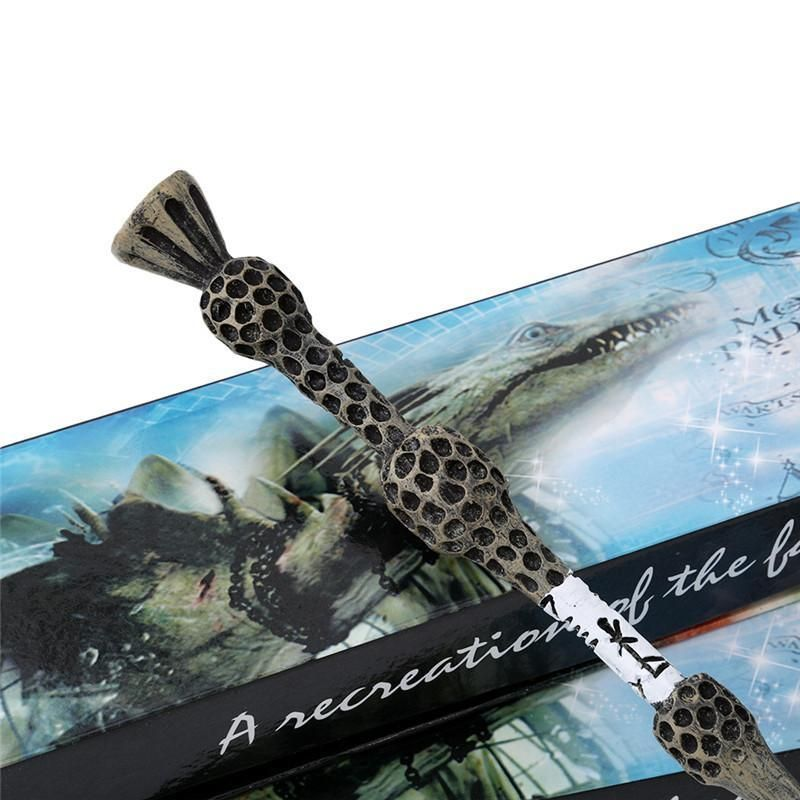 Albus Dumbledore Old Wand/ Harry Potter Magic Magical Wand/ Elegant Ribbon Gift Box Packing-WoahCool