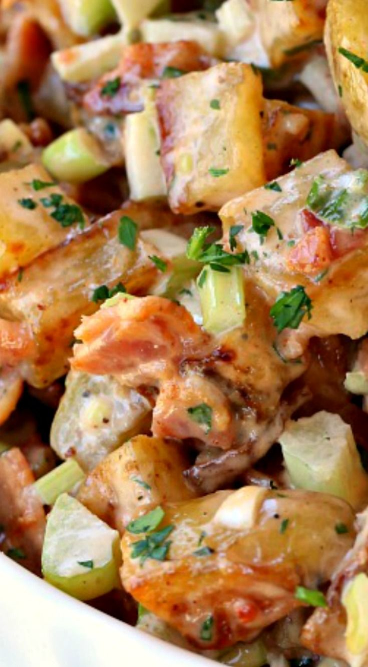 Oven Roasted Barbecue Potato Salad The Ultimate Side Dish