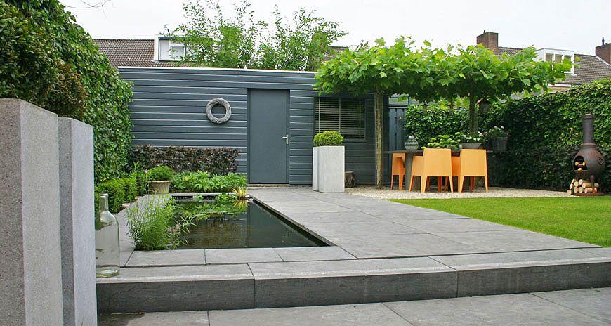 Tuinontwerp tuinontwerpen door tuinarchitect for Tuinarchitect kleine tuin