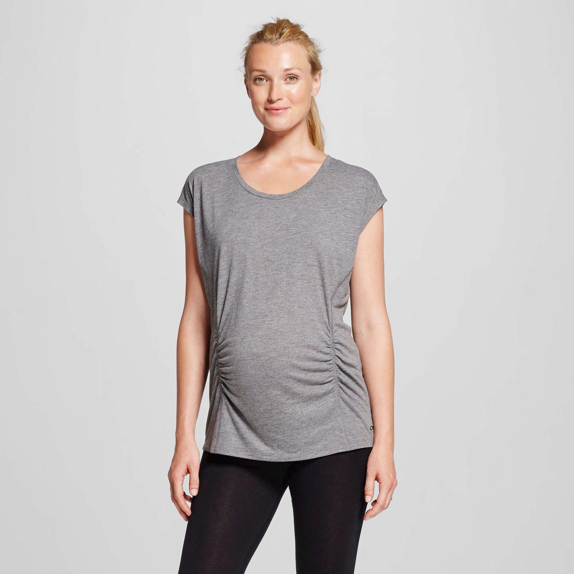 8d2dd18df Maternity Active T-Shirt - C9 Champion Black Heather Xxl, Women's ...