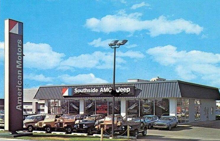 Vintage Jeep Amc Dealer Amc Jeep Southside