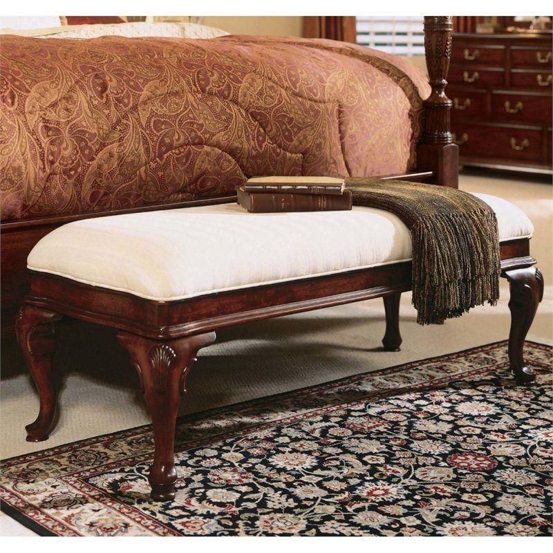 Fabulous American Drew Cherry Grove Bed Bench Home Decor Machost Co Dining Chair Design Ideas Machostcouk