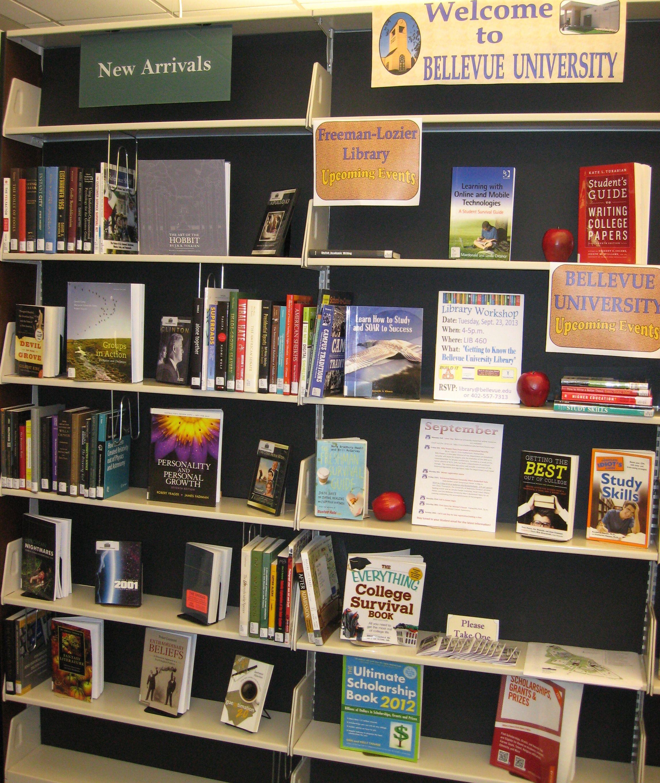 September Book Display Area