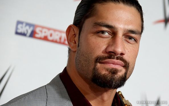 The 3x Whc Champ Roman Reigns On The Wwe London Red Carpet