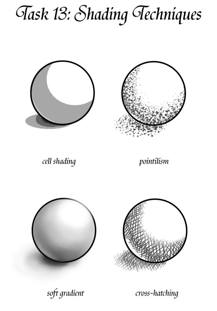 GM Task 13: Shading techniques 2 by Teacup-creations