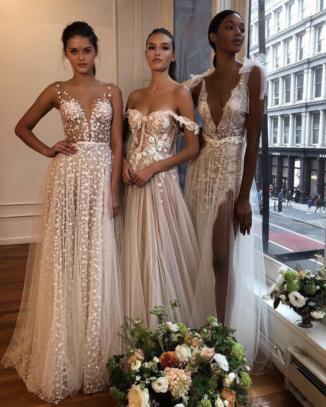 "graceful brides on instagram: ""1, 2 or 3? could you even"