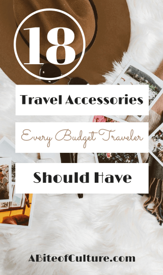 18 Travel Accessories Every Budget Traveler Should Have - are you a budget traveler looking for must-have accessories for your next trip? Whether you're heading on a EuroTrip or backpacking through southeast Asia, here are 18 travel accessories that'll save you money during your travels (and some that are fun must-haves!) Happy travels!