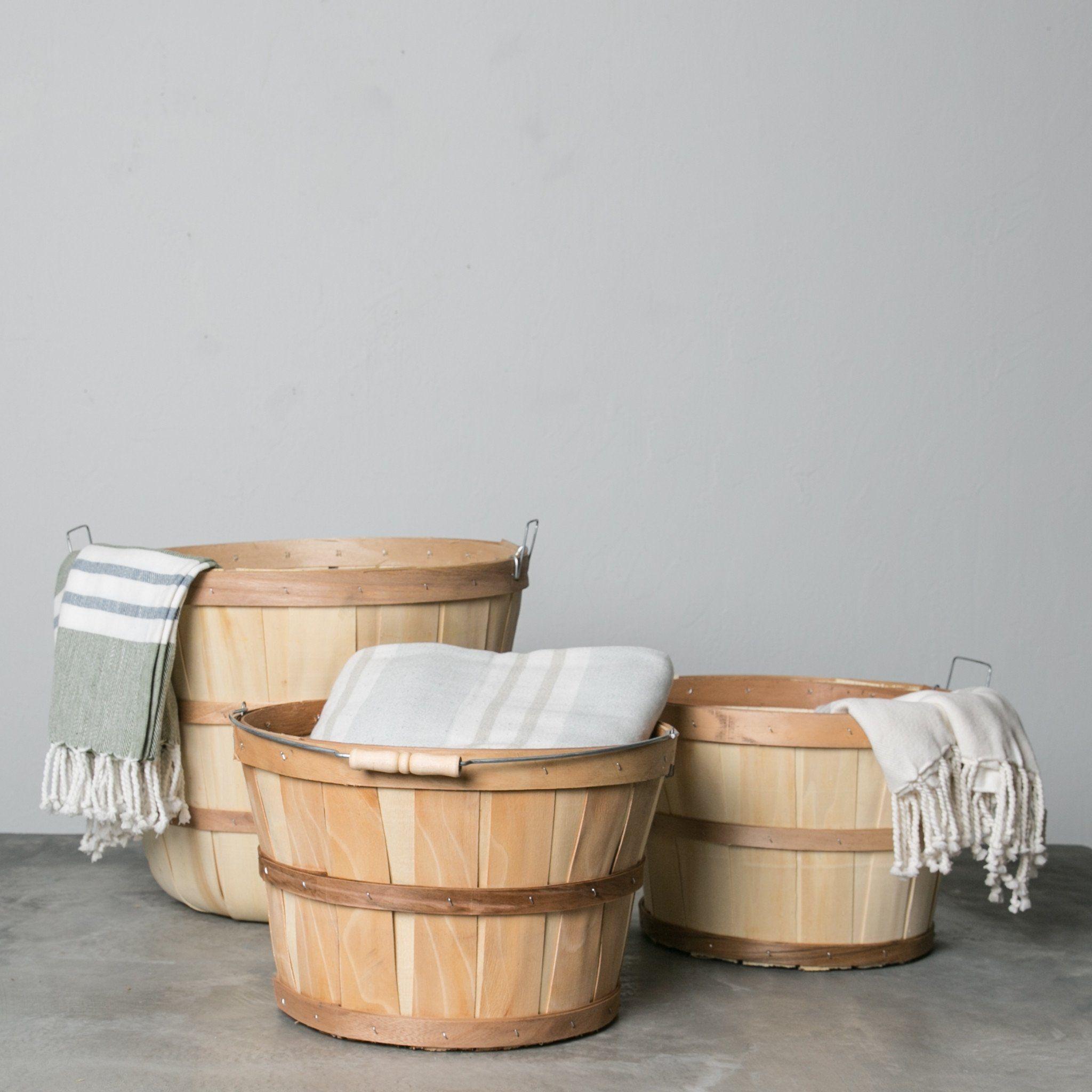 Bushel Basket Magnolia Market Chip Joanna Gaines Our Bushel