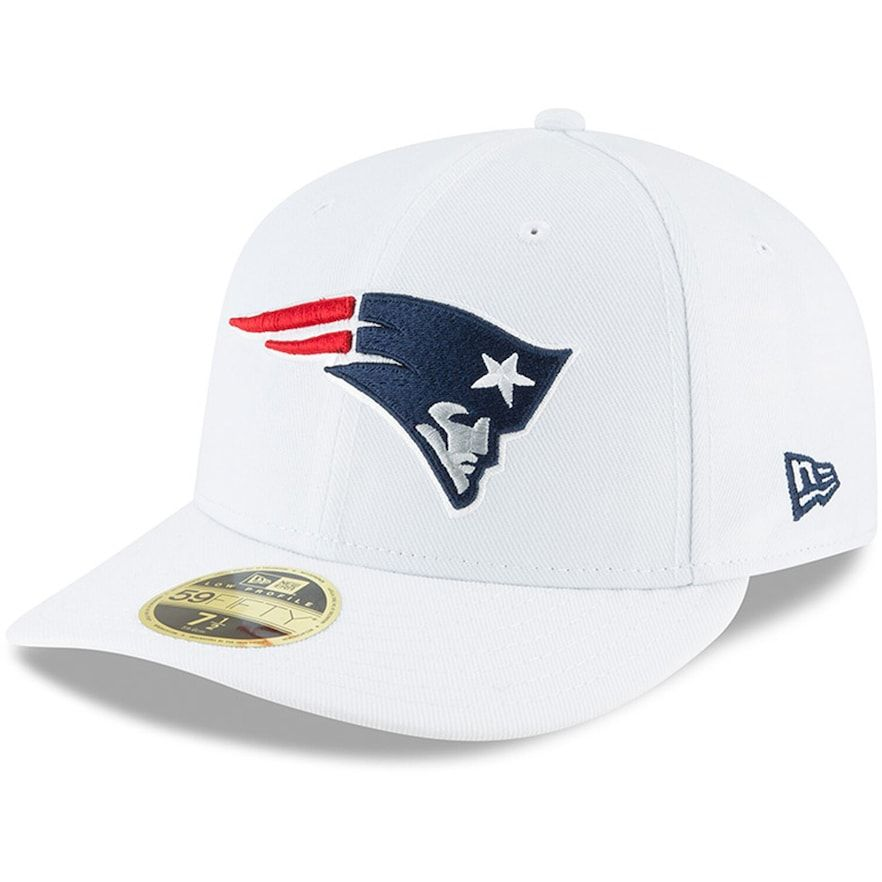 New England Patriots noir New Era 59Fifty Fitted Cap