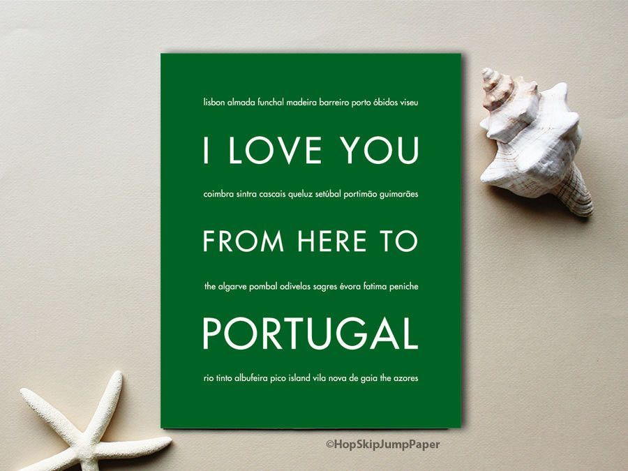 Beautiful coastlines and interesting history, Portugal is a great pace for a European adventure. Treasure your memories with this unique art print. A travel poster makes an excellent gift idea for a t