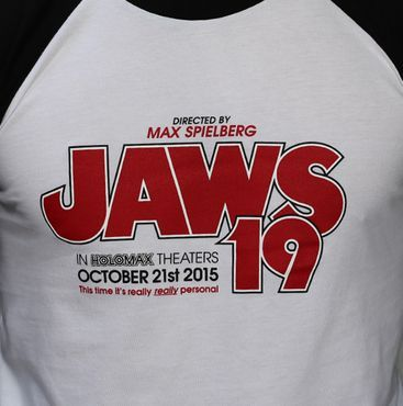 JAWS 19 - 3/4 LENGTH BASEBALL SHIRT
