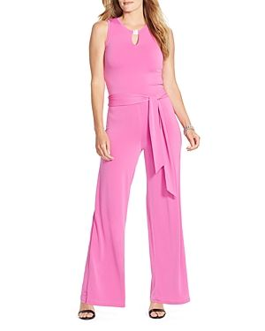 Lauren Ralph Lauren Plus Wide Leg Jumpsuit