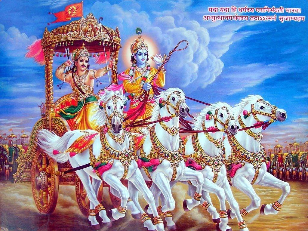 Free Krishna Arjun Wallpapers At Your Computer And High Resolution Lord Krishna Arjuna Desktop Wallpaper Pictures Photos A Bhagavad Gita Lord Krishna Krishna